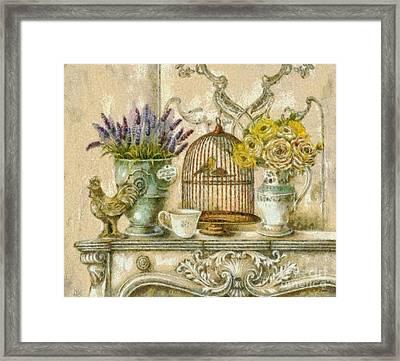 The Birdcage Framed Print by Elizabeth Coats