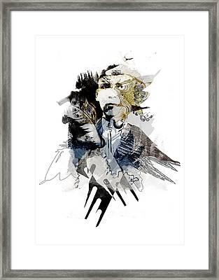 The Birdman Framed Print by Aniko Hencz