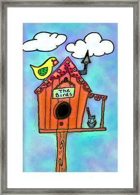 The Birds Framed Print by Melissa Osborne