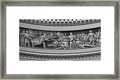 The Birth Of Aviation And A Nation Framed Print