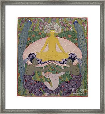The Birth Of Venus Framed Print by Georges Barbier