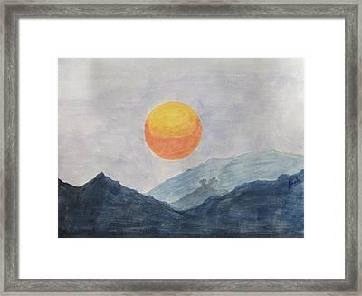 The Birth Framed Print by Sonali Gangane