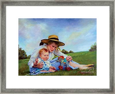The Birthday Gift Framed Print