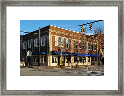 The Birthplace Of Pepsi - Cola Framed Print