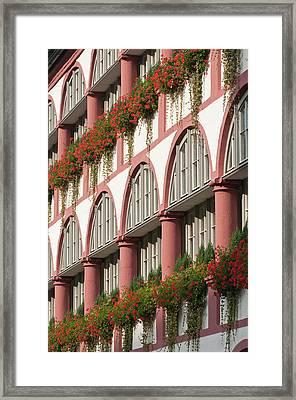 The Bischofshof Hotel Regensburg Framed Print