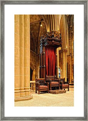 The Bishops Chair II Framed Print by Dick Wood