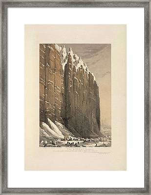 The Bivouac (cape Seppings) Framed Print by British Library
