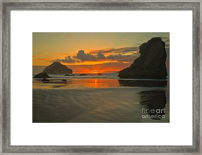 The Black Boot Framed Print by Adam Jewell