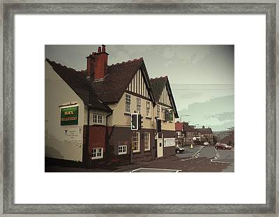 The Black Bulls Head, Openwoodgate, Excellent Real Ale Pub Framed Print