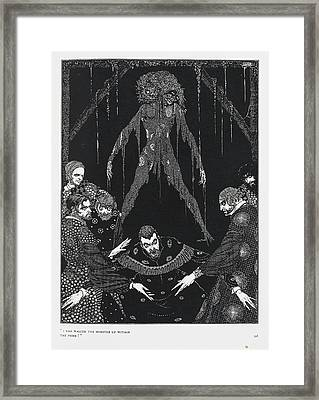 The Black Cat Framed Print by British Library