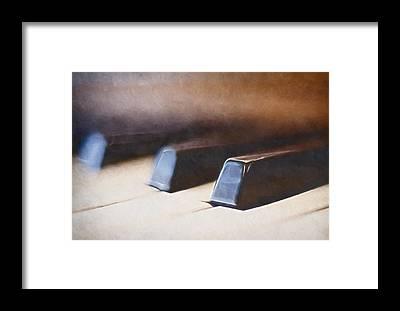 Keyboard Instrument Framed Prints