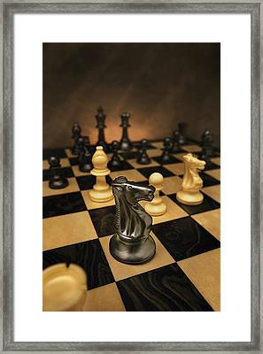 The Black Knight Framed Print by Don Hammond