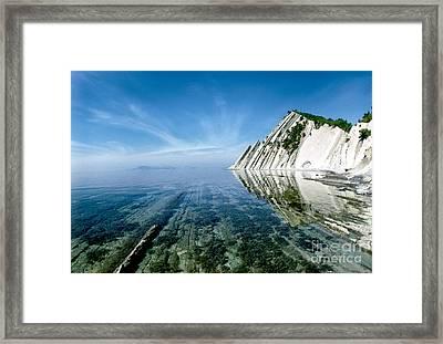 The Black Sea Coast Framed Print by Vladimir Sidoropolev