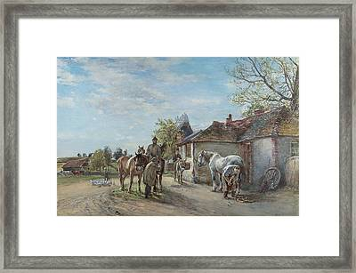 The Blacksmith Framed Print by Mark Fisher