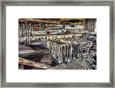 The Blacksmith Shop Framed Print by Ken Smith