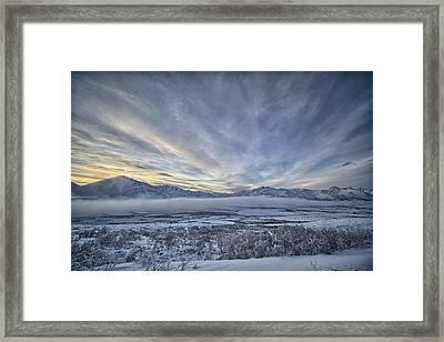The Blackstone Valley Framed Print by Robert Postma
