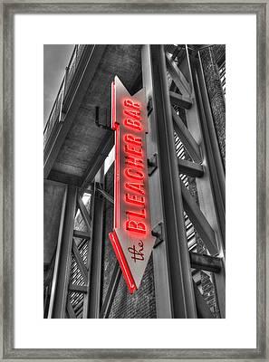 The Bleacher Bar Framed Print
