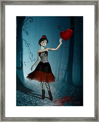The Bleeding Heart Framed Print