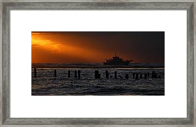 The Blessed Crew - Outer Banks Framed Print by Dan Carmichael
