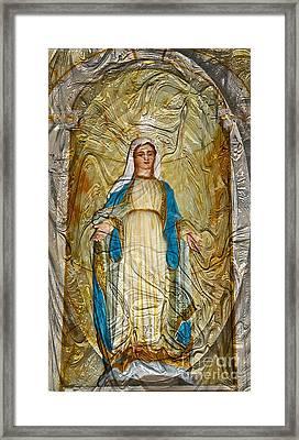 The Blessed Mother Framed Print
