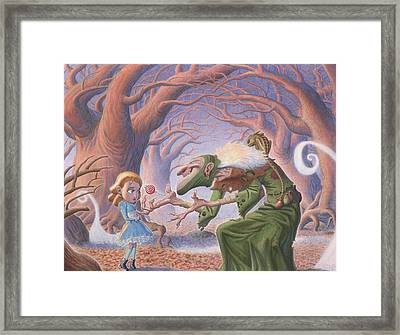 The Blind Witch Framed Print