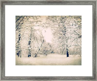 The Blizzard Framed Print by Jessica Jenney