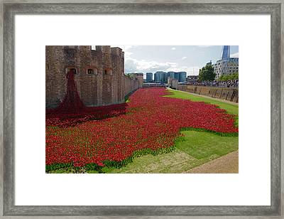 The Bloody Tower Framed Print