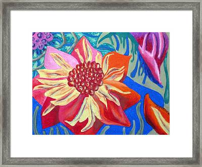 The Blossom Framed Print by Molly Williams