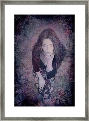 The Blown Kiss Framed Print by Loriental Photography