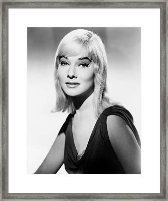 The Blue Angel, May Britt, 1959, Tm Framed Print