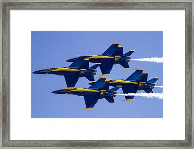The Blue Angels In Action 1 Framed Print