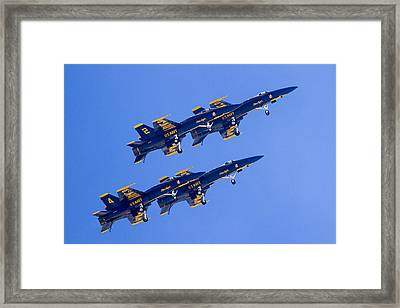 The Blue Angels In Action 3 Framed Print