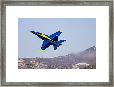 The Blue Angels In Action 4 Framed Print
