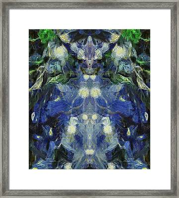 The Blue Beetle  Framed Print by Dan Sproul