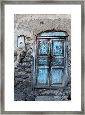 The Blue Door 1 Framed Print by James Brunker