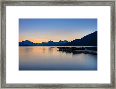 The Blue Hour Framed Print
