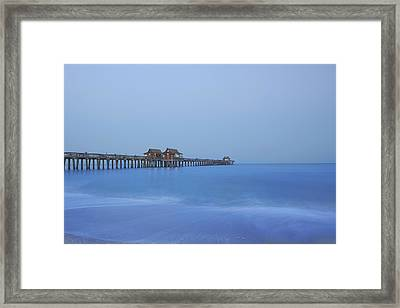 The Blue Hour Framed Print by Kim Hojnacki