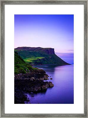 The Blue Hour Framed Print by Yuri Fineart