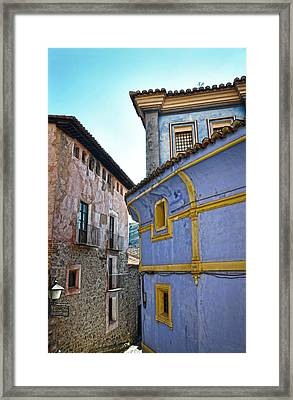 The Blue House Framed Print by RicardMN Photography