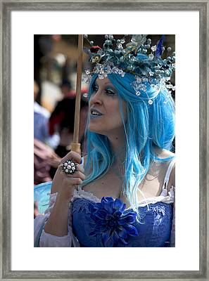 The Blue Lady Framed Print by Ivete Basso Photography