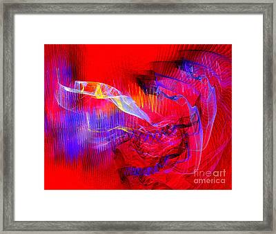 The Blue Meanies Framed Print