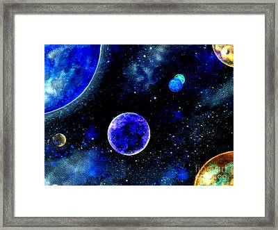 The Blue Planet Framed Print by Bill Holkham