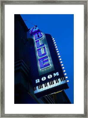 The Blue Room Jazz Club, 18th & Vine Framed Print