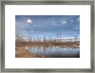 The Blue Water Desert Framed Print by Imago Capture