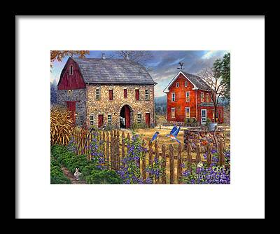 Farmers Framed Prints