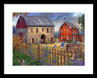 American Painters Framed Prints