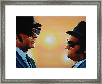 The Blues Brothers Framed Print by Paul Meijering