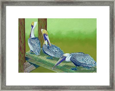 The Blues Brothers Framed Print by Tracy L Teeter