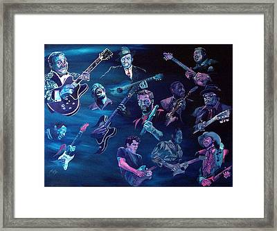 The Blues Framed Print by Kathleen Kelly Thompson