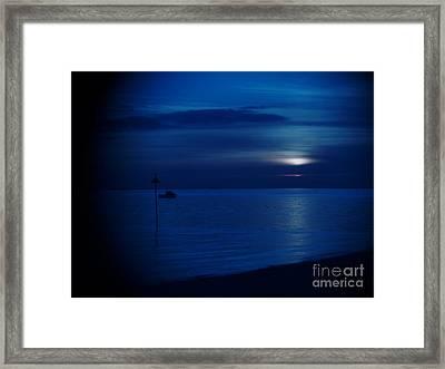 The Blues Framed Print by Vicki Spindler